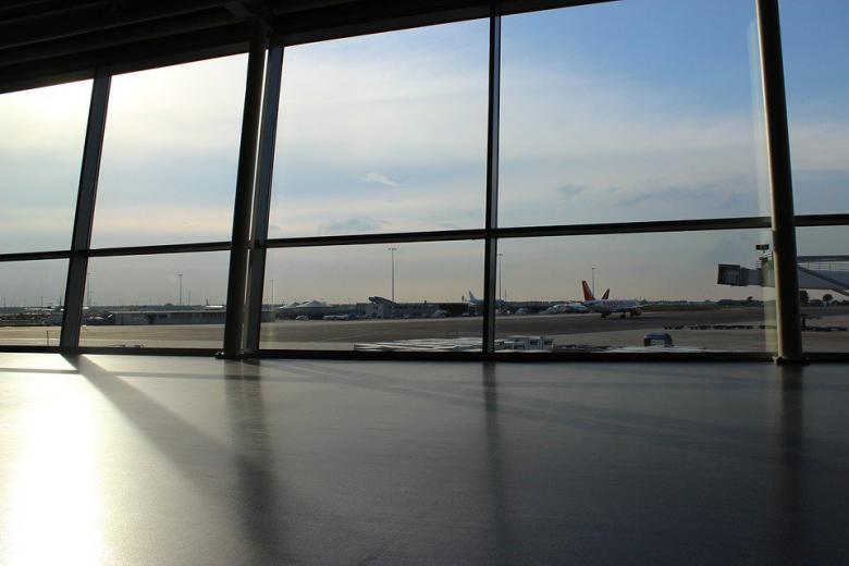 вид из окон аэропорта фото