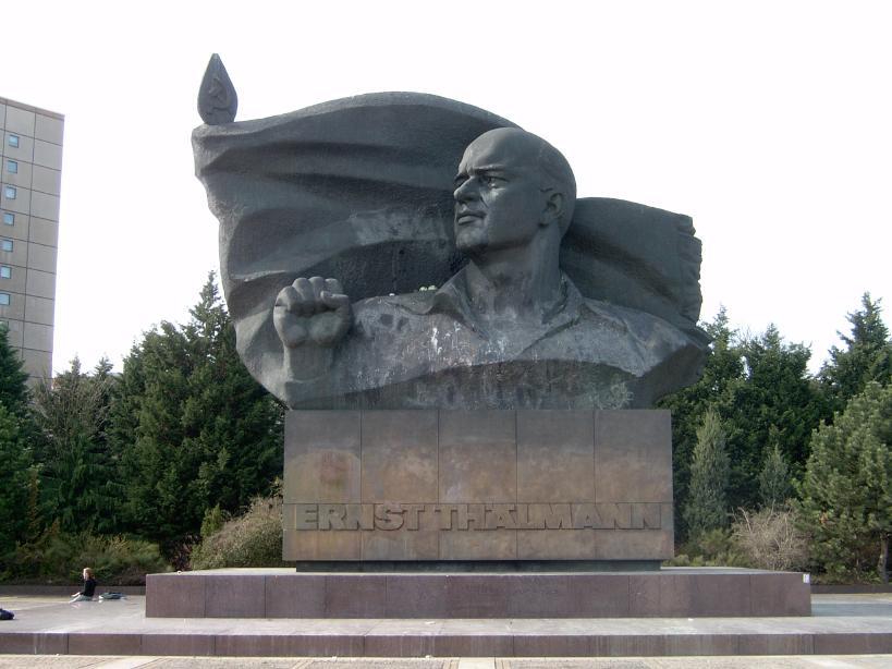 памятник эрнсту тельману в берлине фото